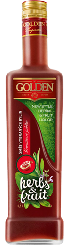 Golden Herbs & Fruit Pomegranate