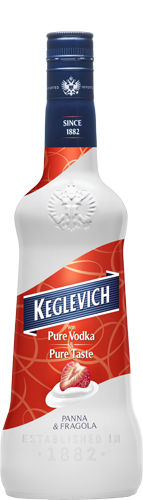 Keglevich Strawberry & Cream