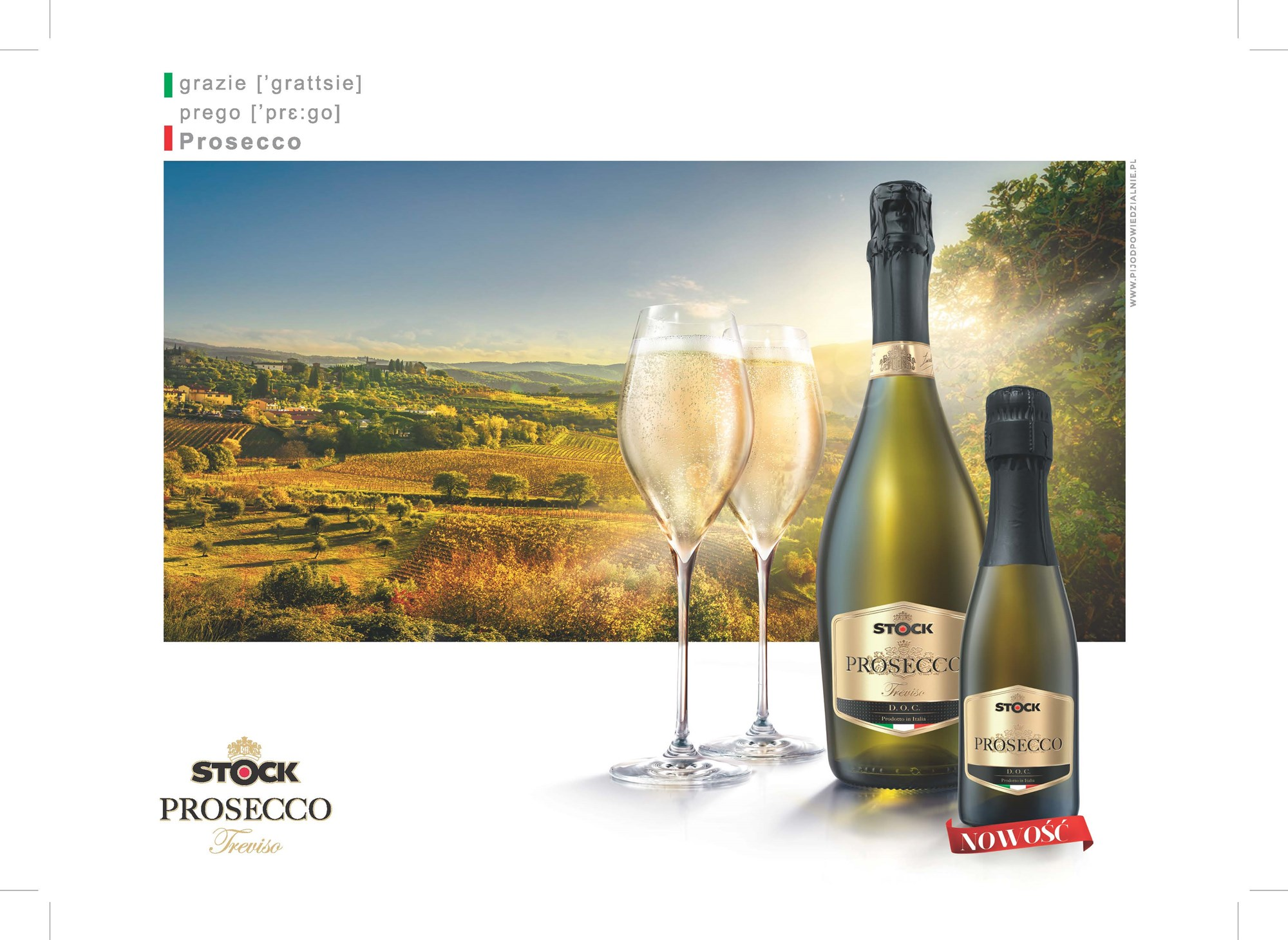 Stock Prosecco now available in 200ml format