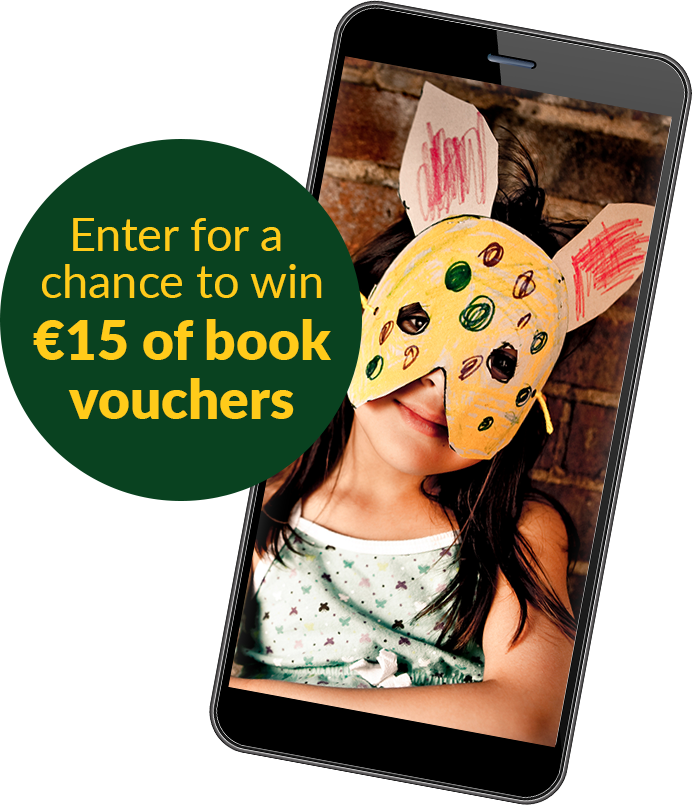 Enter for a chance to win €15 of book vouchers